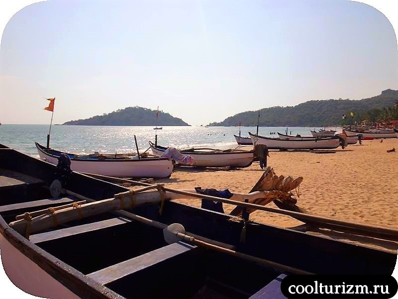 Палолем пляж в Гоа