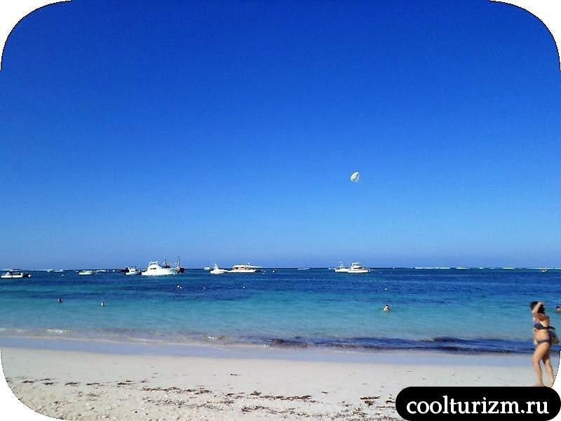 Пунта Кана .пляж
