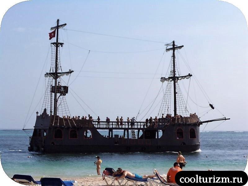 Ифа Баваро Барсело кораблик