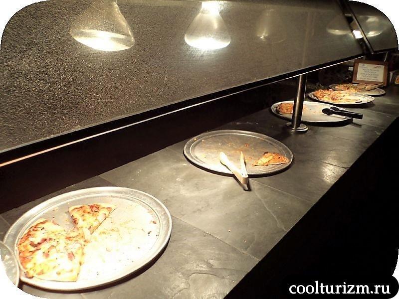 Ифа Баваро Барсело едим пиццу