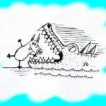 Большой стрекозосвин атакует города и села