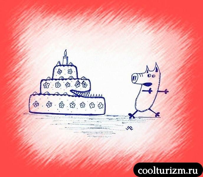 Тортики наносят ответный удар
