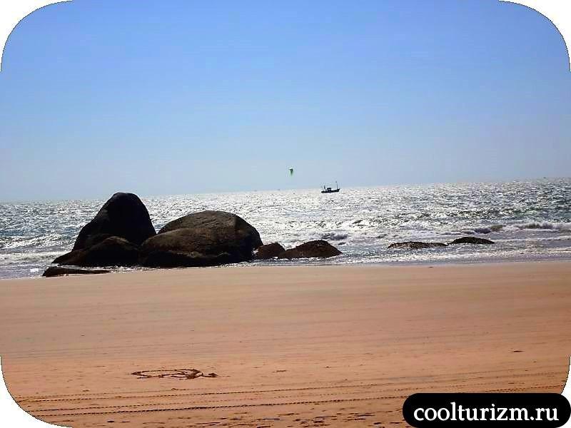 агонда гоа бич пляж