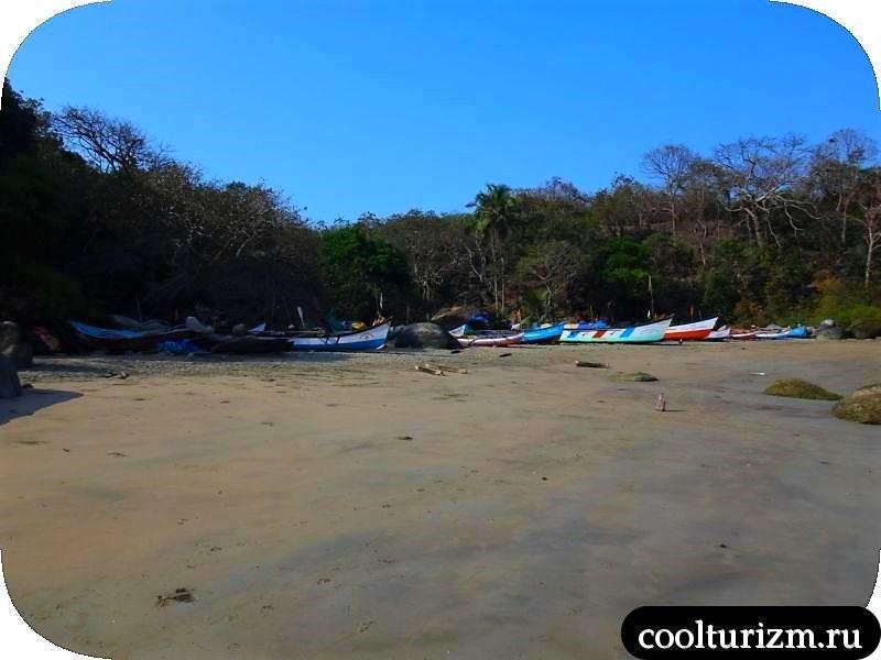 В Агонде много рыбаков