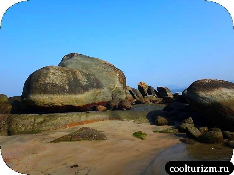 в Агонде, море