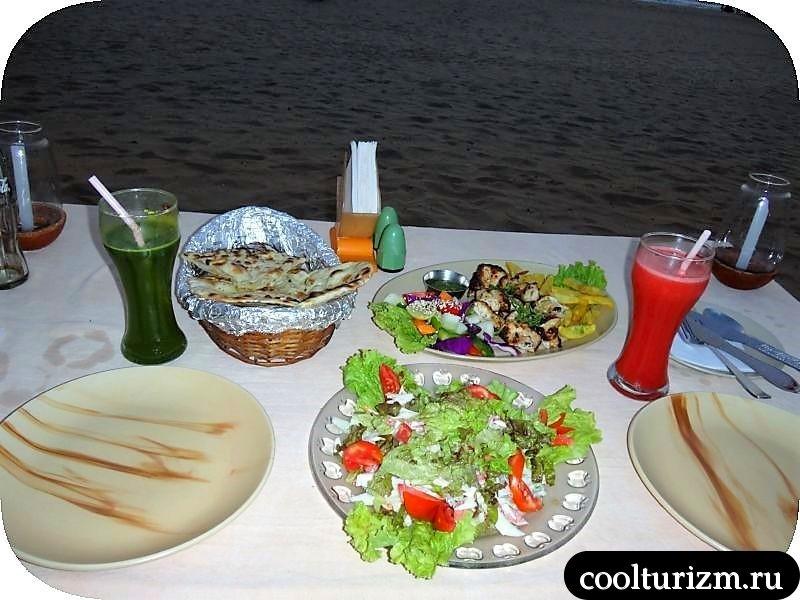 Праздник обжор в Гоа.Агонда