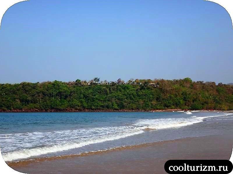 Агонда, Индия,море и песок