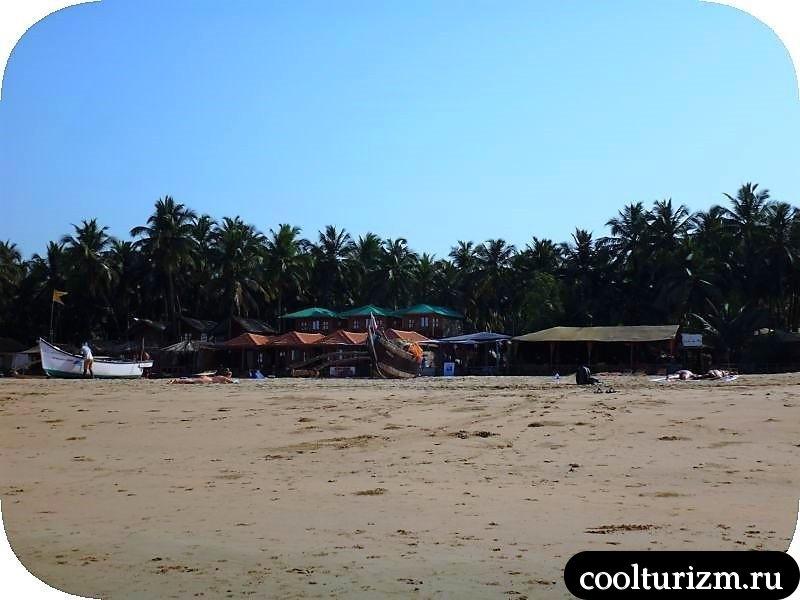 Агонда, Индия, Гоа,море