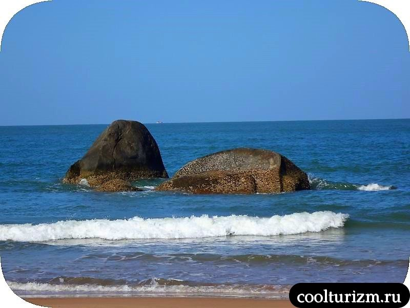 Агонда, Индия,пляж
