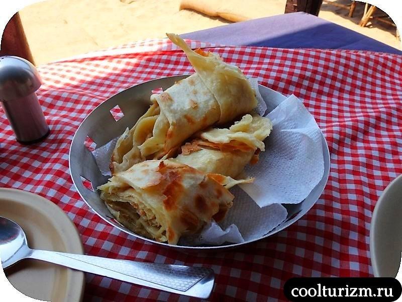 индийская еда.праздник обжор в Гоа.Батер наан