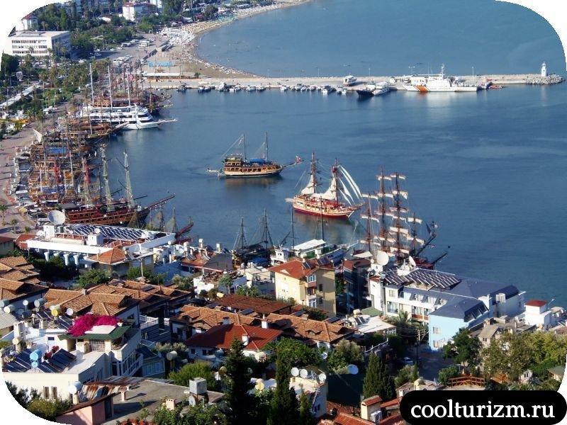 Красная Башня Анатолийское побережье