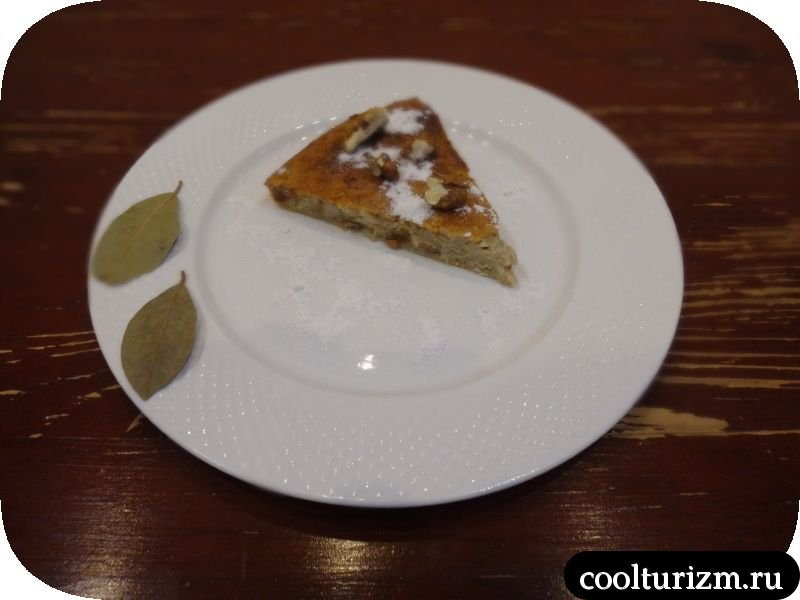 овсяный пирог с творогом