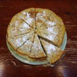 Овсяный пирог с лимонами, апельсинами и изюмом