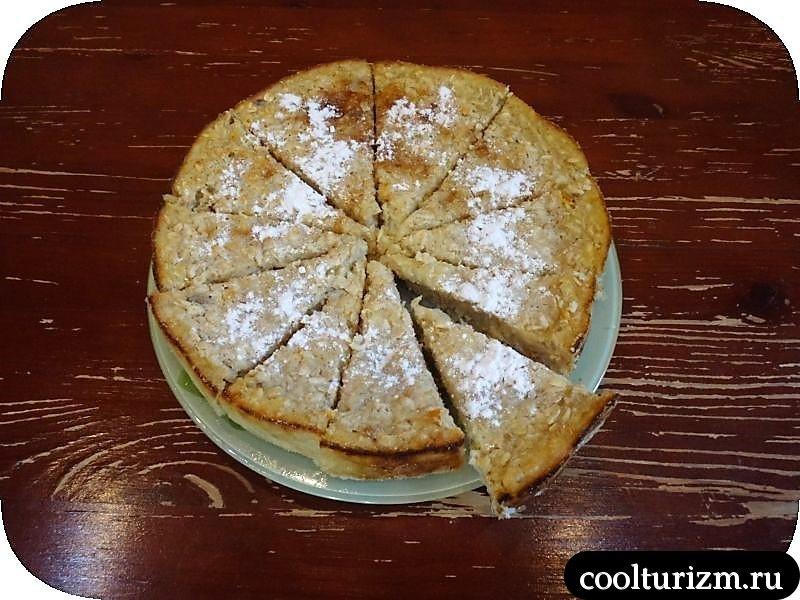пирог с апельсином,лимоном и цедрой
