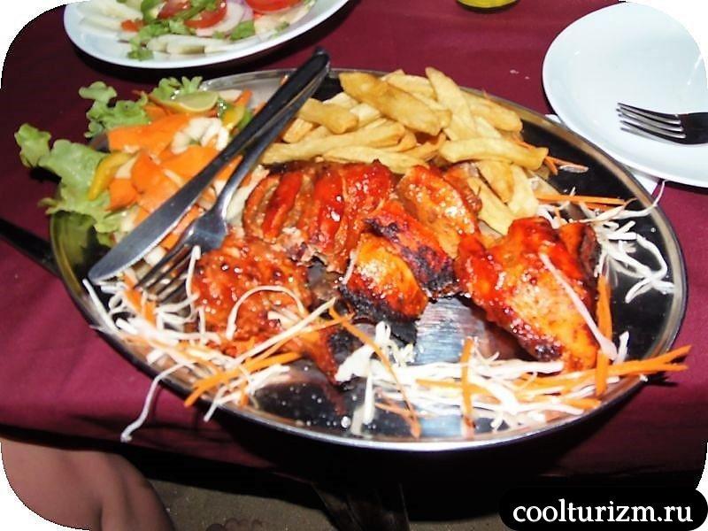 тандури.праздник обжор в Гоа.тандури