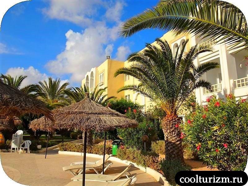 Joya Paradise 4*. Джерба, Тунис. Анимация
