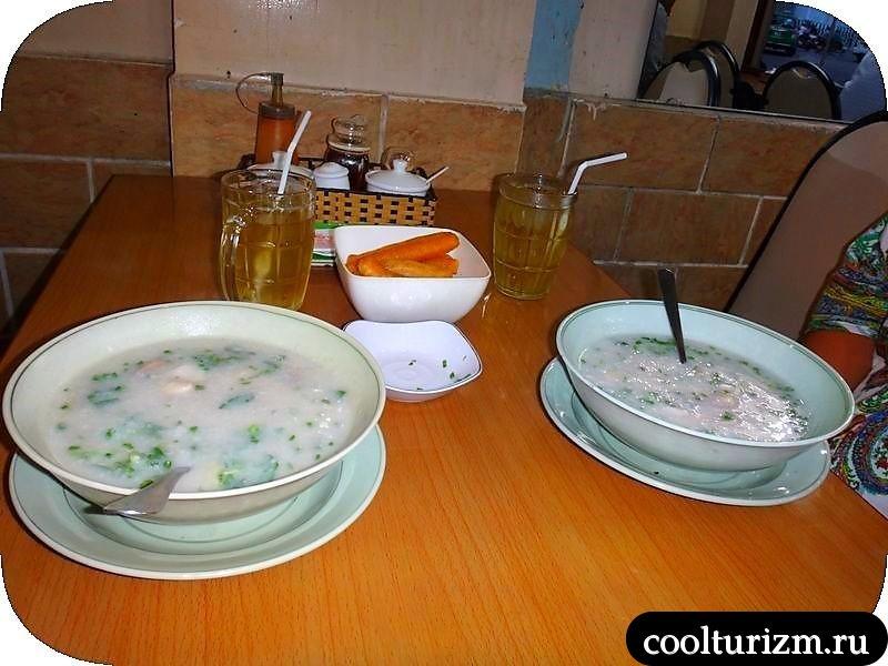 Хошимин, Вьетнам.Еда