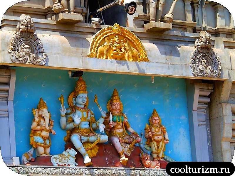 Карнатака,Статуя Шивы