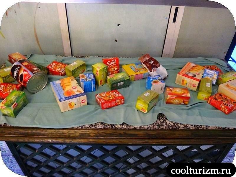 еда в Тунисе.восточные сладости