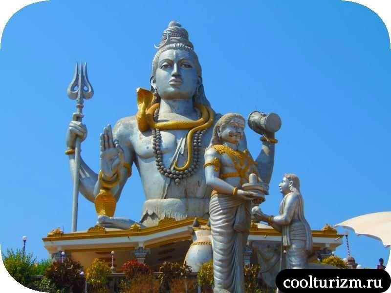 Экскурсия в Мурдешвар.Шива