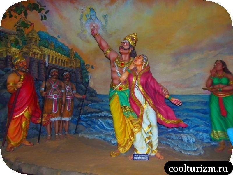 экскурсия в Мурдешвар.Шива памятник