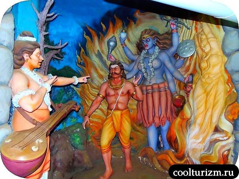 экскурсия в Мурдешвар.март