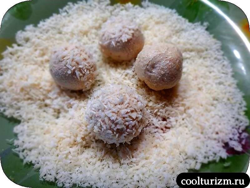 конфеты из творога.рецепт с фото