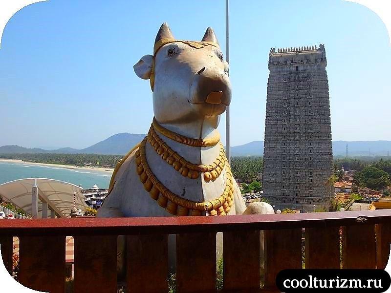 экскурсия в Мурдешвар,Индия,Шива