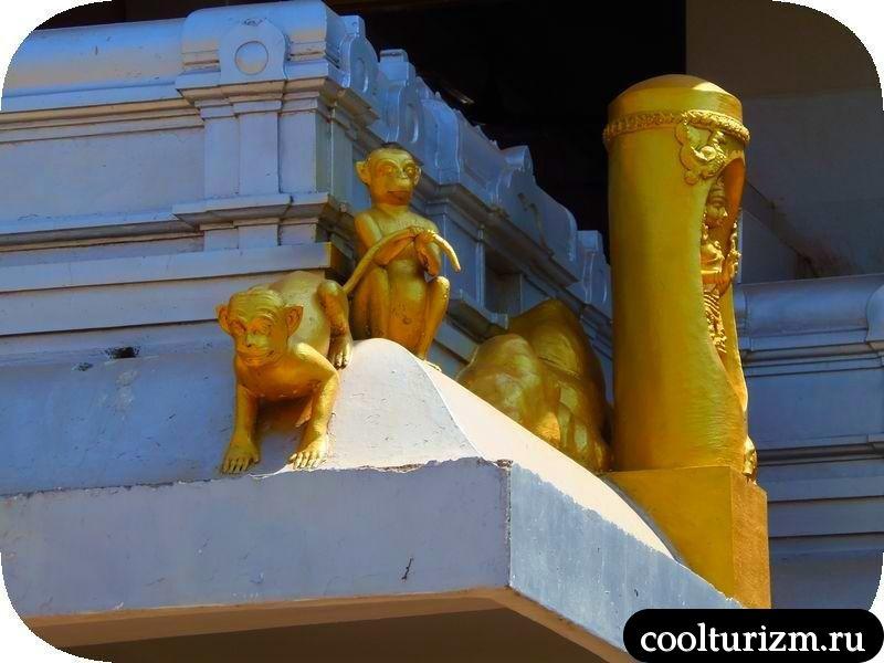 Карнатака,Индия,храмы и статуи