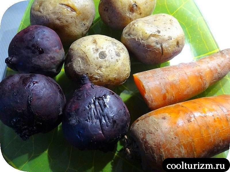 селёдка под шубой овощи