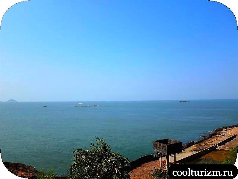 экскурсия в Мурдешвар,Индия в марте