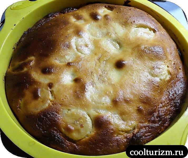 пирог со сливами замороженными