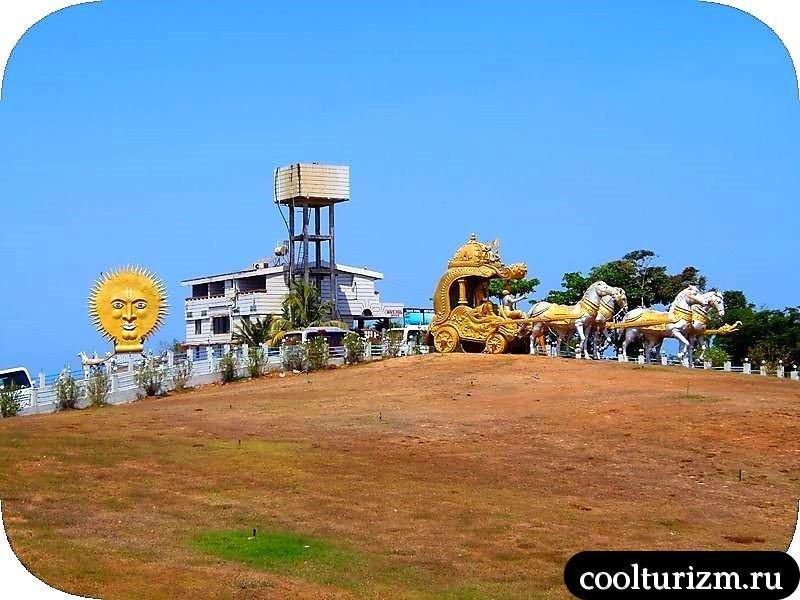 экскурсия в Мурдешвар,Карнатака,Индия