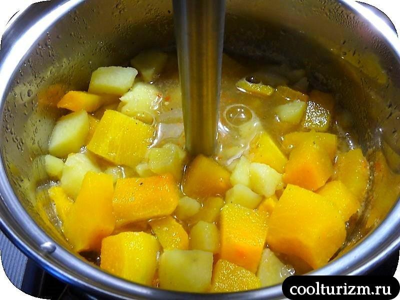 суп-пюре из тыквы вкусный