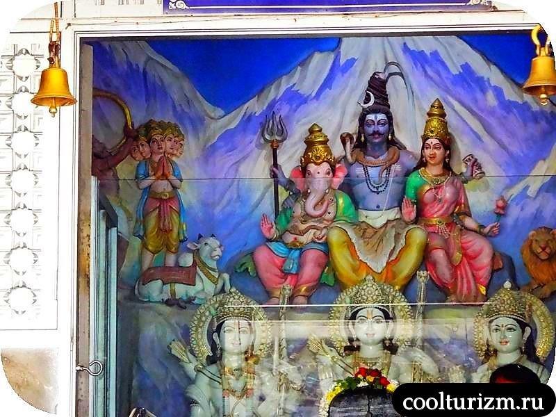 экскурсия в Мурдешвар,памятник Шиве