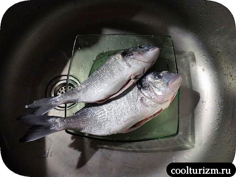 дорада с рисом как не пересушить рыбу