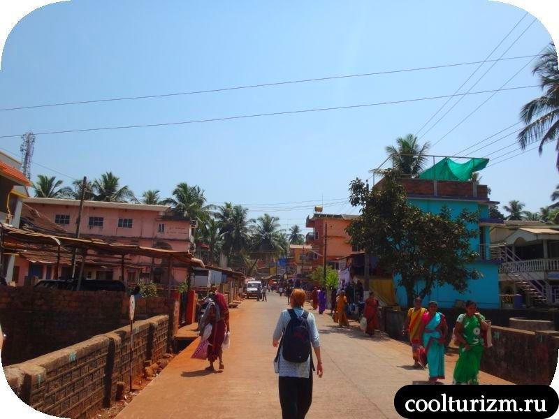 Гокарна, Карнатака, мусор