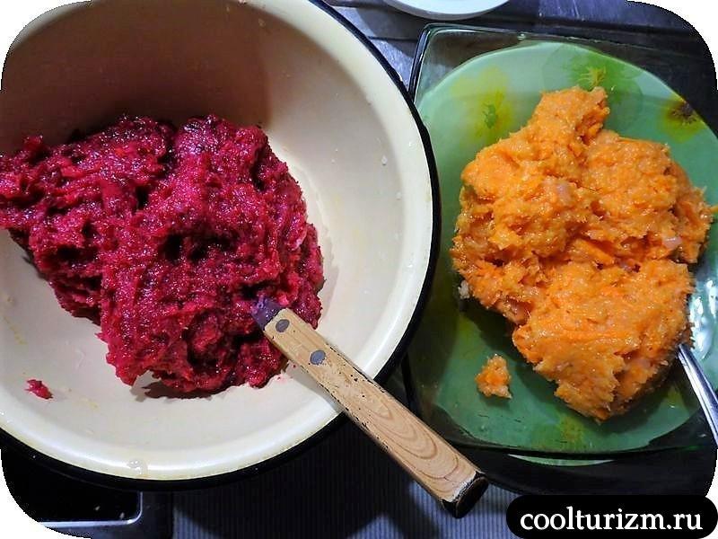 разноцветная запеканка рецепт в духовке