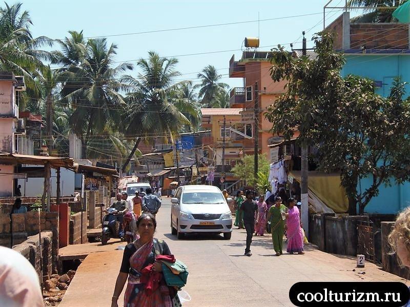 Карнатака, Гокарна улочки города