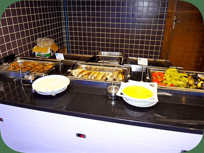 еда в 5 * отелях Мармариса много мяса