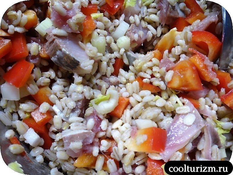 салат из селедки с майонезом