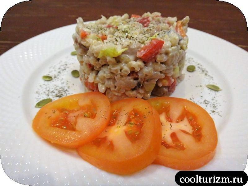 салат из селедки с перловкой рецепт