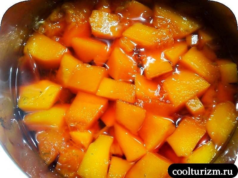 суп пюре из тыквы и свеклы