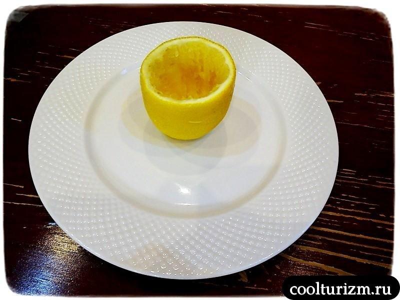 салат в лимоне как приготовить