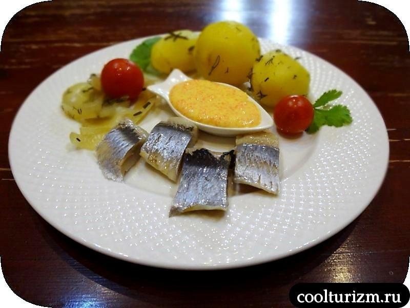 селедка с нежной картошкой быстро
