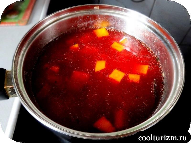 гороховый суп со свеклой рецепт