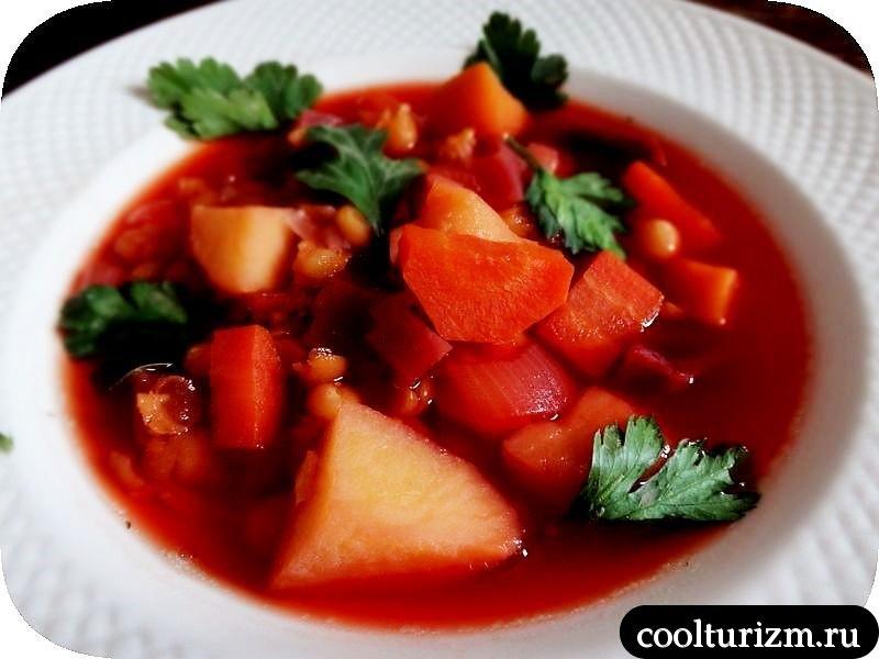 гороховый суп со свеклой как сварить