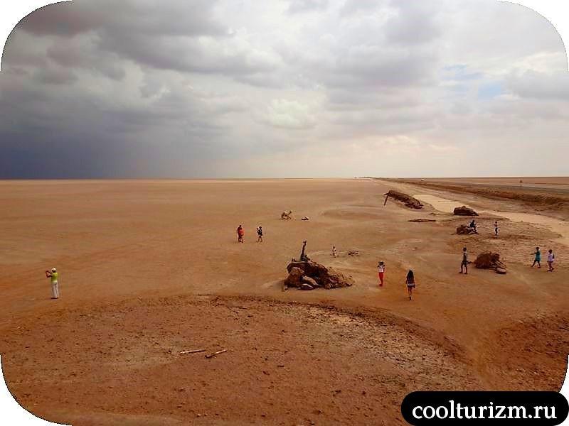 Тунис. Озеро Шотт эль Джерид