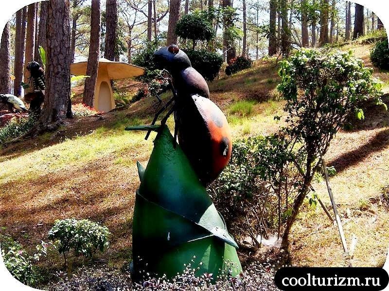 парк Пренн статуи
