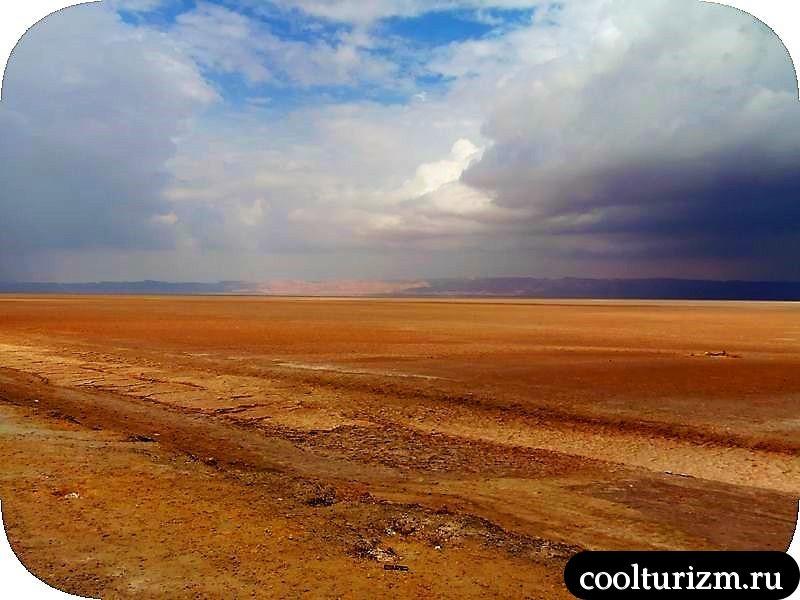 Озеро Шотт эль Джерид миражи